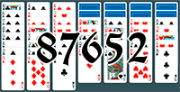 Solitaire №87652