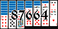 Solitaire №87664