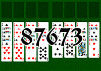 Solitaire №87673