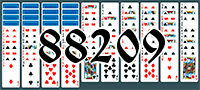 Solitaire №88209