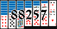 Solitaire №88257