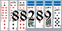Solitaire №88289