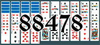 Solitaire №88478