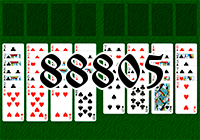 Solitaire №88805