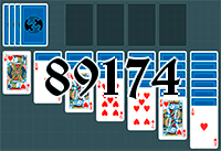 Solitaire №89174