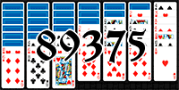 Solitaire №89375