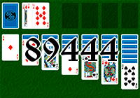 Solitaire №89444