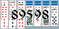 Solitaire №89598