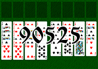 Solitaire №90525