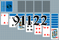 Solitaire №91122