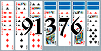 Solitaire №91376