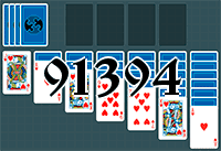 Solitaire №91394