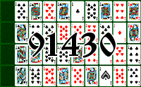 Solitaire №91430