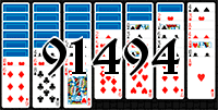 Solitaire №91494