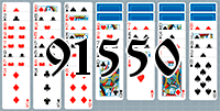 Solitaire №91550