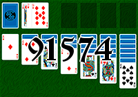 Solitaire №91574