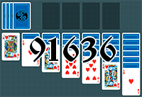 Solitaire №91636
