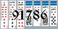 Solitaire №91786