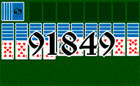 Solitaire №91849