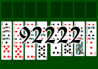 Solitaire №92222