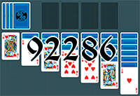 Solitaire №92286