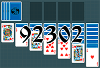 Solitaire №92302
