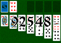 Solitaire №92548