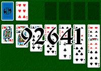 Solitaire №92641