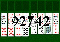 Solitaire №92742