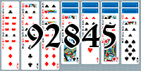 Solitaire №92845