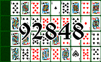 Solitaire №92848