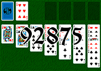 Solitaire №92875