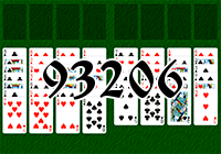 Solitaire №93206