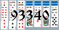 Solitaire №93340