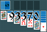 Solitaire №93370