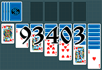 Solitaire №93403