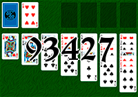 Solitaire №93427