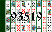 Solitaire №93519