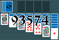 Solitaire №93574