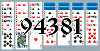 Solitaire №94381