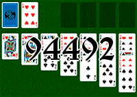 Solitaire №94492