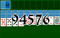 Solitaire №94576