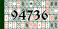 Solitaire №94736