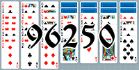 Solitaire №96250