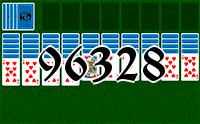 Solitaire №96328