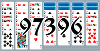 Solitaire №97396