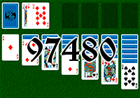 Solitaire №97480