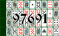 Solitaire №97691