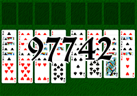 Solitaire №97742