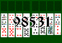 Solitaire №98531